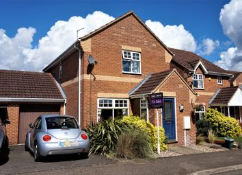 Thumbnail 3 bed link-detached house for sale in Creed Road, Peterborough