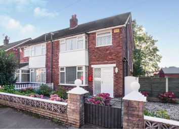 Thumbnail 3 bed semi-detached house for sale in Neville Street, Hazel Grove, Stockport