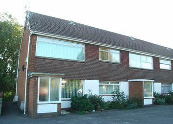 Thumbnail 2 bedroom flat to rent in Broad Close, Pontypridd Road, Barry