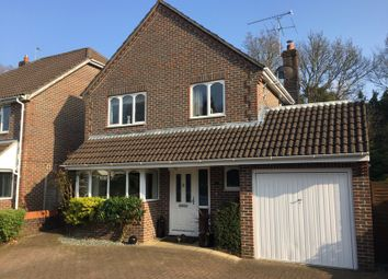 Thumbnail 4 bed detached house for sale in Lynwood Close, Lindford, Bordon, Hampshire