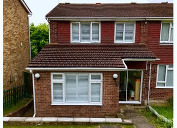Thumbnail 3 bed semi-detached house for sale in Telford Way, High Wycombe