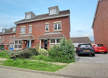 Thumbnail 4 bed semi-detached house for sale in Cooks Gardens, Keyingham, Hull, East Yorkshire
