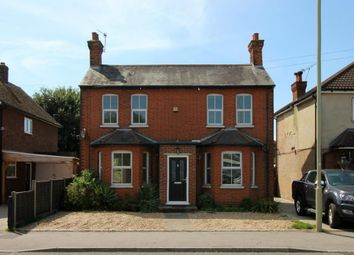 Thumbnail 3 bed detached house for sale in North Lane, Aldershot