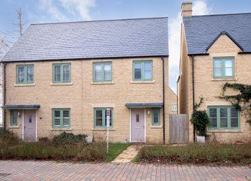 Thumbnail 3 bed semi-detached house for sale in Hercules Close, Upper Rissington, Cheltenham