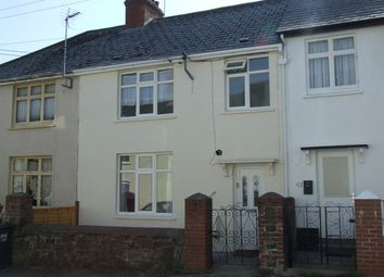 Thumbnail 3 bed terraced house to rent in Cyprus Terrace, Barnstaple
