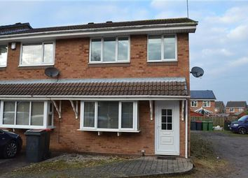 Thumbnail 3 bed end terrace house for sale in Aldersgate, Kingsbury, Tamworth