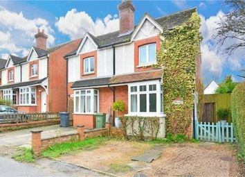 Thumbnail 3 bed semi-detached house for sale in Rickford, Worplesdon, Guildford, Surrey