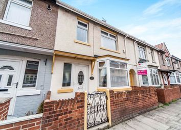 Thumbnail 3 bedroom terraced house for sale in Spring Garden Road, Hartlepool