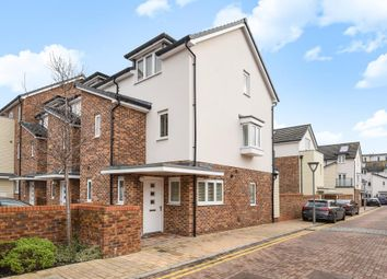 Thumbnail 3 bed town house for sale in Addlestone, Surrey