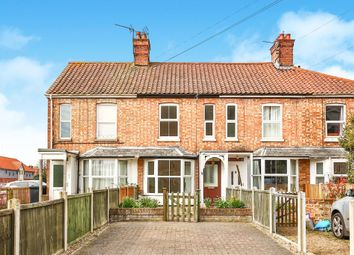 Thumbnail 3 bedroom terraced house for sale in Queens Road, Fakenham