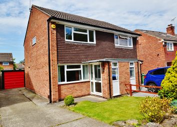 Thumbnail 2 bed semi-detached house for sale in Birkdale Way, Alwoodley, Leeds
