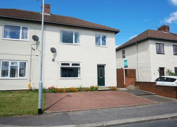 Thumbnail 3 bed semi-detached house for sale in St. Aidans Avenue, Framwellgate Moor, Durham