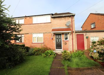 Thumbnail 2 bed semi-detached house for sale in Brantwood Avenue, Carlisle