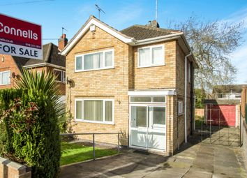 Thumbnail 3 bed detached house for sale in Bollington Road, Oadby, Leicester