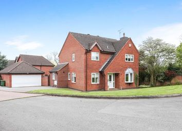 Thumbnail 4 bed detached house for sale in The Spinney, Atherstone, Warwickshire