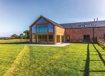 Thumbnail 5 bed equestrian property for sale in Chapelhouse Barns, Poulton, Cheshire