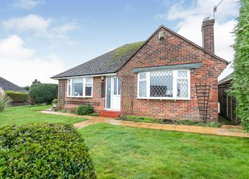 Thumbnail 2 bed bungalow for sale in Haslam Crescent, Bexhill-On-Sea, East Sussex