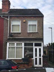 Thumbnail 3 bed end terrace house to rent in Gordan Street, Burslem