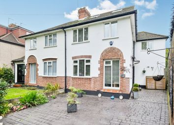 Thumbnail 4 bed semi-detached house for sale in Cray Avenue, St. Mary Cray, Orpington