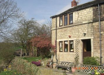 Thumbnail 2 bed cottage to rent in Haigh Lane, Flockton, Wakefield