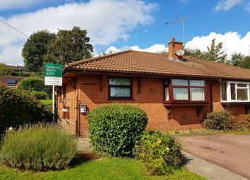 Thumbnail 2 bed semi-detached bungalow to rent in Wakefield Avenue, Tutbury, Burton-On-Trent