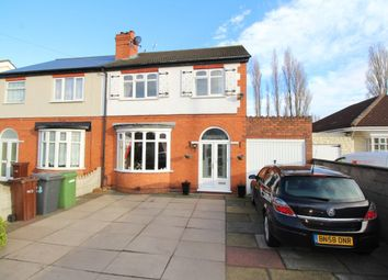 Thumbnail 3 bed semi-detached house for sale in Cannock Road, Wednesfield, Wolverhampton