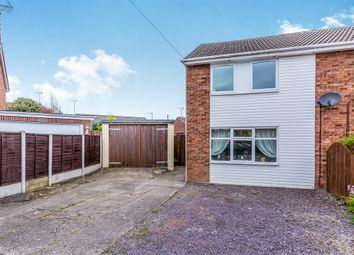 Thumbnail 3 bed semi-detached house for sale in Poplar Close, Uttoxeter