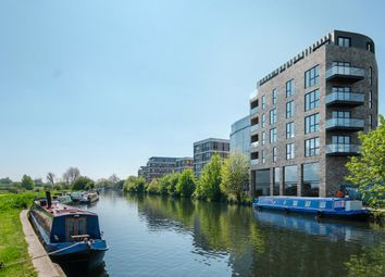 Thumbnail 1 bed flat for sale in Hunts Wharf, Leaside Road, London