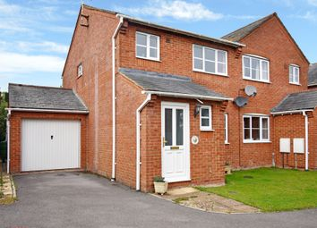 Thumbnail 3 bed semi-detached house to rent in Rockfel Road, Lambourn, Hungerford