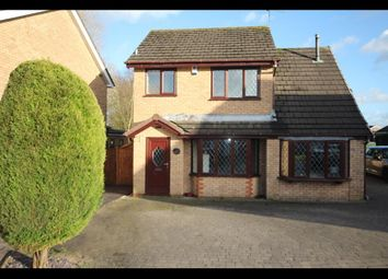 Thumbnail 3 bed detached house for sale in Canvey Grove, Stoke-On-Trent
