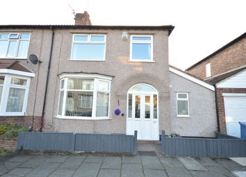 Thumbnail 3 bed semi-detached house for sale in Hillingdon Road, Wavertree, Liverpool