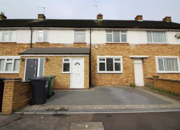 Thumbnail 3 bed terraced house to rent in Leven Drive, Cheshunt, Waltham Cross