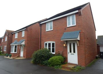 Thumbnail 3 bed detached house for sale in Rowan Close, Cannock