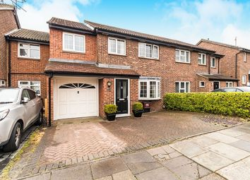 Thumbnail 4 bedroom semi-detached house for sale in Ashurst Close, Crayford, Dartford