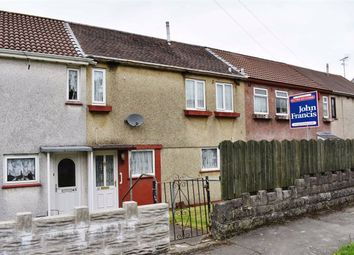 Thumbnail 2 bed terraced house for sale in Cadle Crescent, Portmead, Swansea