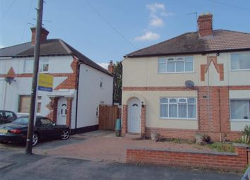 Thumbnail 2 bed semi-detached house for sale in Kingston Avenue, Wigston, Leicestershire