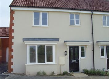 Thumbnail 3 bed semi-detached house to rent in Lucerne Crescent, Bridgwater