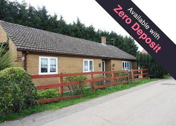 Thumbnail 3 bedroom bungalow to rent in Elm Low Road, Elm, Wisbech