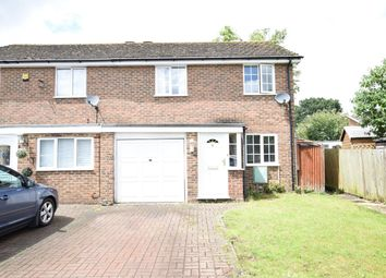Thumbnail 3 bed semi-detached house to rent in Leiston Close, Lower Earley, Reading