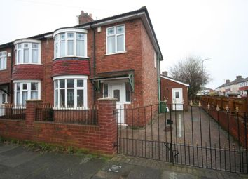 Thumbnail 3 bed semi-detached house for sale in Arncliffe Avenue, Stockton-On-Tees