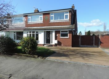 Thumbnail 4 bed semi-detached house to rent in Denbydale Way, Royton, Oldham
