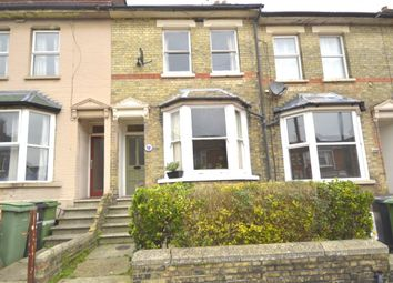 Thumbnail 3 bed terraced house to rent in Florence Road, Maidstone