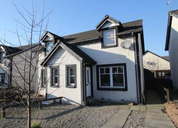 Thumbnail 2 bed semi-detached house for sale in Vorlich Crescent, Callander, Stirlingshire
