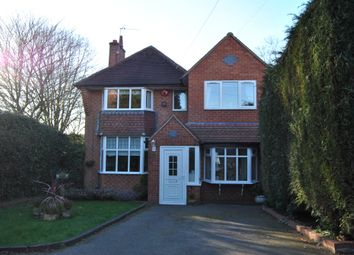 Thumbnail 4 bed detached house to rent in Wentworth Road, Solihull