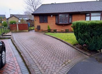 Thumbnail 2 bed semi-detached bungalow to rent in Surrey Park Close, Shaw, Oldham