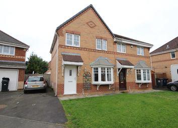 Thumbnail Semi-detached house for sale in Braid Close, Penwortham, Preston