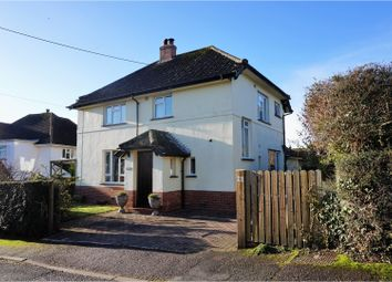 Thumbnail 3 bedroom detached house for sale in Manstone Mead, Sidmouth