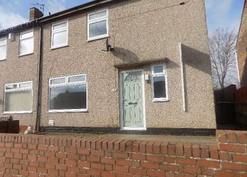 Thumbnail 2 bed semi-detached house to rent in Cedar Grove, Shidon, Co. Durham
