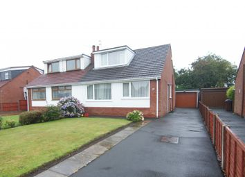 Thumbnail 3 bed semi-detached bungalow for sale in Hodgson Avenue, Freckleton, Lancashire