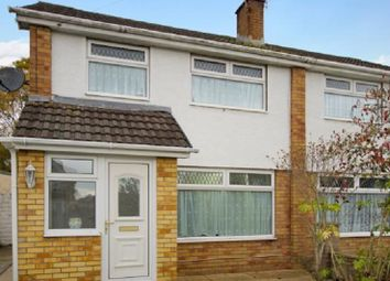 Thumbnail 3 bed semi-detached house for sale in Westminster Way, Cefn Glas, Bridgend County.